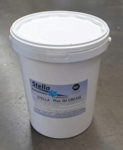 Food Grade Grease, 00/000, white 18kg, AGR00W