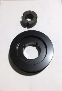 Fan pulley, double groove, 160mm, 35mm bore, G280274